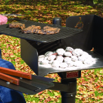 Accessible Charcoal Grill
