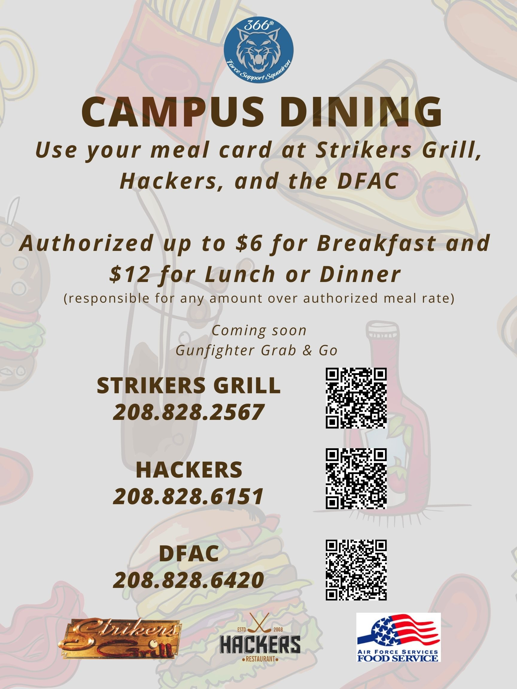 MHAFB first base in ACC to initiate Campus Dining System